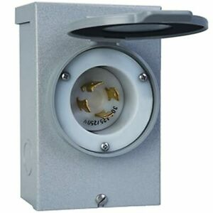 Reliance Controls 30 amp 4 prong Power Inlet Box