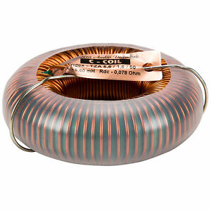 Jantzen 6295 5 6mh 14 Awg C coil Toroidal Inductor