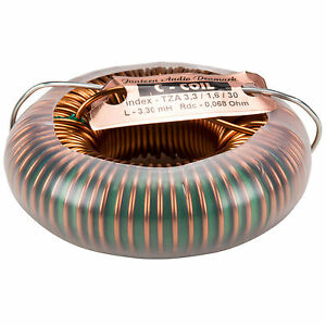 Jantzen 6125 3 3mh 14 Awg C coil Toroidal Inductor