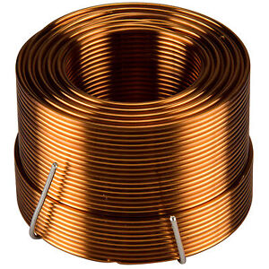 Jantzen 1516 1 7mh 18 Awg Air Core Inductor