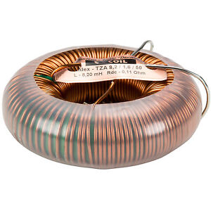 Jantzen 6430 8 2mh 14 Awg C coil Toroidal Inductor