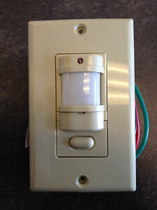 Hubbell Iws zp 3p i Motion Sensor Pir Wall Switch