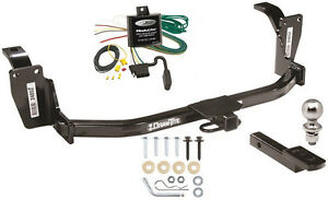 Trailer Hitch For 2013 Honda Crosstour All Models Mudulite Wiring Ball Mount
