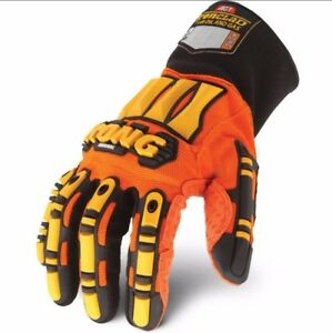 Original Small Kong Ironclad Safety Impact Work Gloves Hand Protection Oil Gas