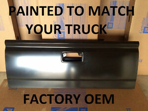 New Painted To Match Factory Oem Tailgate For 14 15 Chevy Gmc Silverado Truck