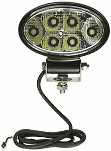 Buyers 1492113 5 75 Oval 9 Led Utility Flood Light Truck Tractor 1350 Lumens