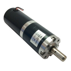 50mm Electric 12v Dc Low Speed 4rpm Dc Planetary Gear Motor With Planet Gear Box