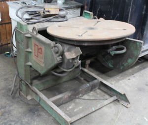 1 000 Lb X 30 Table Ransome Mdl 10p Powered Welding Positioner Turn Table