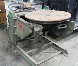 Ransome Welding Positioner 1 000 Lbs 6075