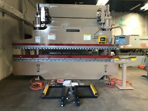90 Ton X 14 Cincinnati Cnc Hydraulic Press Brake Metal Bending Machine