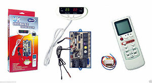 Universal Ac Control System W remote Sensors For Ductless Mini split Systems