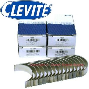 New Clevite Standard Size Rod Bearing Set 351c 351m 400 Ford Cleveland
