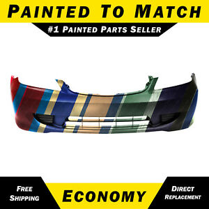 New Painted To Match Front Bumper Cover For 2004 2005 Honda Civic Sedan Coupe