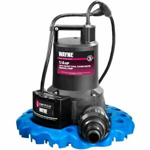 Wayne Wapc250 50 Gpm 1 4 Hp Automatic Iswitch reg Pool Cover Pump