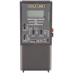 Gold Line Zm 1p Impedance Meter With Protection Relay