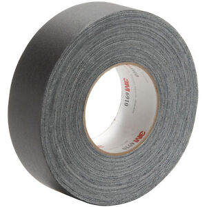 3m 6910 Cloth Gaffers Tape Black 2 X 60 Yd Each
