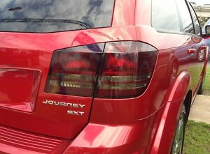 2009 2014 Dodge Journey Smoke Tail Light Precut Tint Cover Smoked Overlays