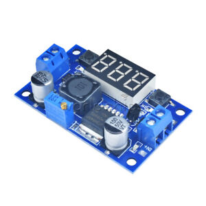 Lm2596 Buck Step down Power Converter Module Dc 4 0 40 To 1 3 37vled Voltmeter