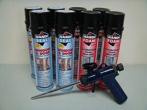 Fomo Handi Foam 4 Window Door 4 Gap Fill Ht300 Gun It s Great Stuff