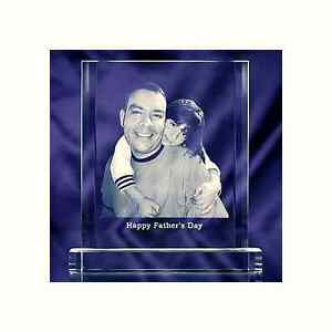 Crystal Photo Plaque Laser Picture Image Engraving
