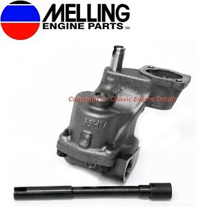 New Melling High Volume Oil Pump Shaft 1993 2002 Sb Chevy 350 305 W 3 4 Inlet