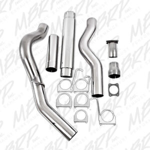 2001 2005 Duramax Lb7 Lly Stainless 5 Cat Back Exhaust System Kit