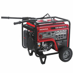 Honda Eb6500 5500 Watt Portable Industrial Generator W Gfci Protection
