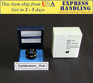 78d Diagnostic Surgical Lens For Indirect Ophthalmoscope Free Shipping