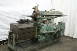 37 Stroke Cincinnati Horizontal Metal Shaper Linear Cutter