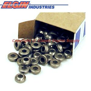 New Box Of 100 Rocker Arm Pivot Balls 6 Cylinder V8 Sb Chevy Engines