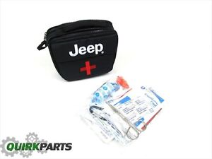2014 2018 Jeep Cherokee Safety Kit Emergency First Aid Bag Oem New Mopar