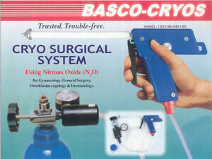 Basco Cyro Surgical Gun Probes With All Accessories set Of 5 And Free Shipping