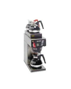 New Bunn 12950 0213 cwtf15 1l 2u Coffee Brewer For Glass Decanters