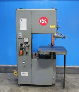 Grob Vertical Metal Cutting Bandsaw 18 Throat Mdl 4v18 3hp