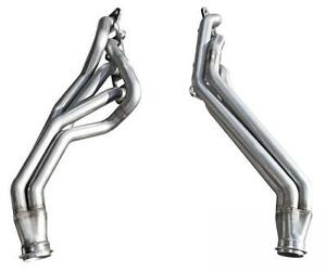 2011 14 Mustang Gt Bassani 1 3 4 Long Tube Headers Stainless Steel 5 0l S5011r