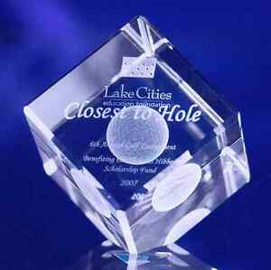 Large 3d Crystal Jewel Cube Free Keychain Laser Engraving