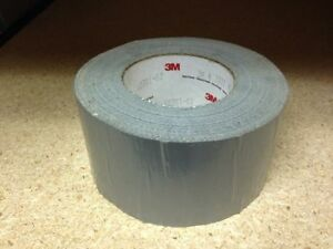 3m 72mm X 55m Silver Duct Tape