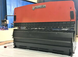 200 Ton X 13 Amada Promecam Cnc Hydraulic Press Brake Metal Bender