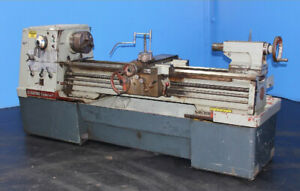 17 Swing X 60 Center Clausing Colchester Engine Lathe Metal Turning Machine
