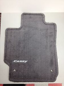 2007 2011 Camry Carpet Floor Mats Gray Pt206 32100 12 Genuine Toyota