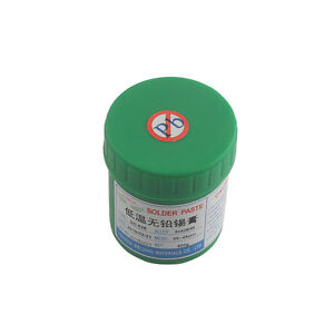 500g Sn42bi58 Sd 528 Low Temperature Lead free Solder Paste Cream Welding Paste
