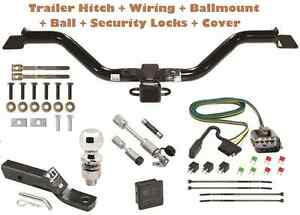 13 17 Chevy Traverse Trailer Tow Hitch Pkg Deluxe W Wiring Hitch Locks
