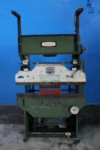 17 X 4 Ton Di acro Mdl1442 Power Sheet Metal Press Brake Metal Bender Former