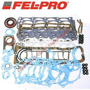 New Fel Pro Engine Overhaul Gasket Set 1983 1987 Ford Sb 302