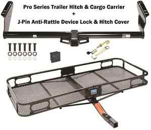 Trailer Tow Hitch 04 19 Toyota Sienna Cargo Basket Carrier Silent Hitch Pin