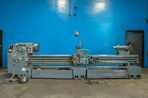 24 31 Swing X 120 Center Morando Engine Lathe 3 5 Hole Taper Metal Turning