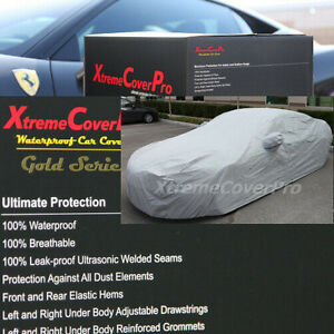 2011 2012 2013 Honda Accord Sedan Coupe Waterproof Car Cover Grey W Mirrorpocket