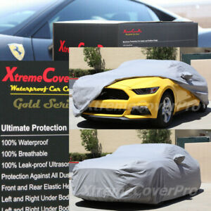 2015 Ford Mustang Waterproof Car Cover W mirror Pockets Gray