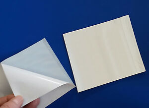 100 6 X 4 1 2 Clear Box Labels 2 mil List Self adhesive Packing Slips Pouches