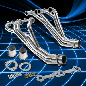 For 84 91 Gmt C k 5 0 5 7 Sbc Stainless Steel Long Tube Header Manifold Exhaust